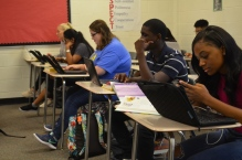 Mr. Postel's class using google classroom.